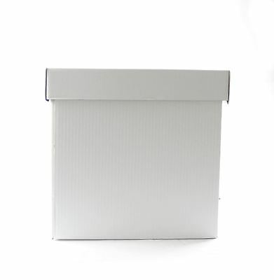 """Heavy Duty Corrugated Cube Cake Boxes - 8"""" - For Tall / Stacked Cakes"""