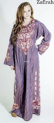 Dubai Embroidered Wedding Party Abaya Jilbab Farasha Maxi Kaftan LongClub dress