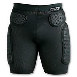 Shorts black with protection soft motorcycle da cross ed enduro