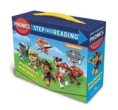 Paw Patrol Phonics Box Set (PAW Patrol) (Step into Reading) (Paperback)