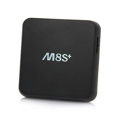 M8S+ Plus Fully Loaded Quad Core Android 4.4 Smart TV Box Sport Movie 1+8G 1080P