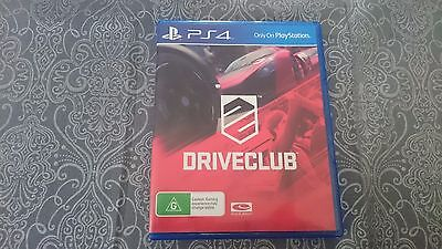 DriveClub Playstation 4 Game PS4