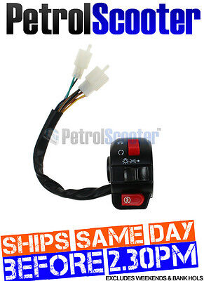 Baotian 125cc T12 RIGHT HAND LIGHT START SWITCH Rebel Btm Fits Chinese Scooter
