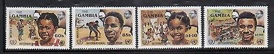 Gambia 599-602 Mint NH