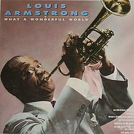 Louis Armstrong - What A Wonderful World - Platinum Music - 1988 #746495