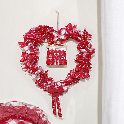 Ghirlanda Cuore Country chic Angelica Home & Country Deco Home Family
