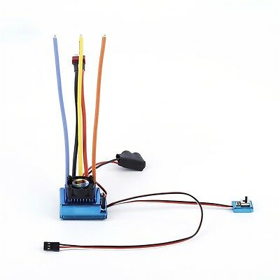120A ESC Sensored Brushless Speed Controller For 1/8 1/10 Car/Truck Crawler YA