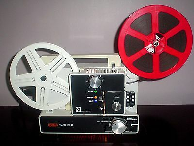 EUMIG 610D Standard 8mm / Super 8 Multi-Speed Movie Projector