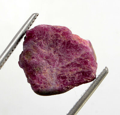 15.07 Certified Natural Ruby Zoisite Rough  Shaped Gemstone Gem No-299