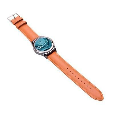 Samsung galaxy gear s2 classic stainless steel leather watch band strap