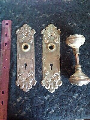 Antique Door Knob & Hardware (Over 50 Years Old Or More) Lot #2