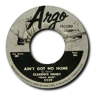 """CLARENCE 'FROGMAN' HENRY - """"AIN'T GOT NO HOME"""" b/w """"TROUBLES, TROUBLES"""" -LISTEN"""