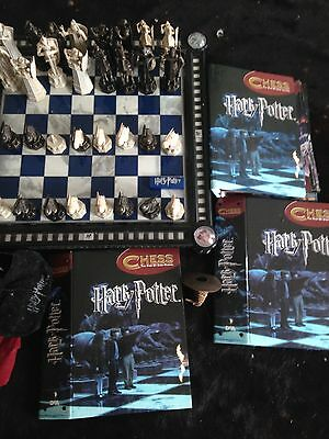 Harry Potter Chess Set And Books