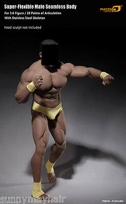 """1:6 Scale Red Executives suit for 12/"""" Phicen M34 Male Muscular Body Model Toys"""