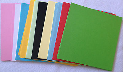 150 Sheets ORIGAMI PAPER Both SIDED 10 Colours 120mm x120mm  Premium Quality