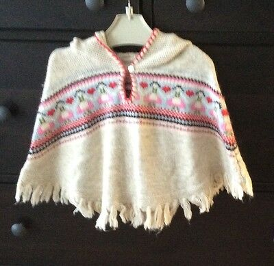 VGC Monsoon Cape or poncho with hood  2-3 years girl