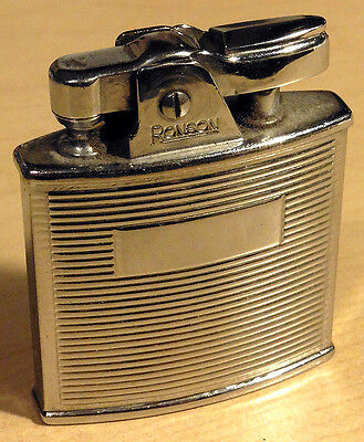 Ronson petrol chromed lighter RP48 original and used