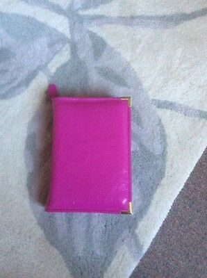 Genuine Pink leather bible cover for standard new world version