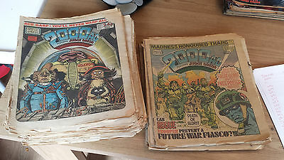 2000AD and Megazine Collection - 166 Progs from 272-1025