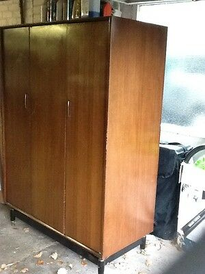 GPlan Tola & Black 1960's triple wardrobe