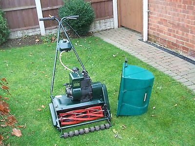 Qualcast Suffolk Punch 43 Petrol Lawnmower 17 Inch Cut Self Propelled