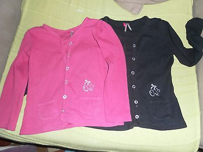 lot 2 gilets orchestra fille 4 ans