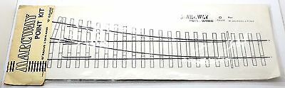 """O Gauge Marcway 48"""" Radius Left Or Right-Hand Point Kit 9H"""