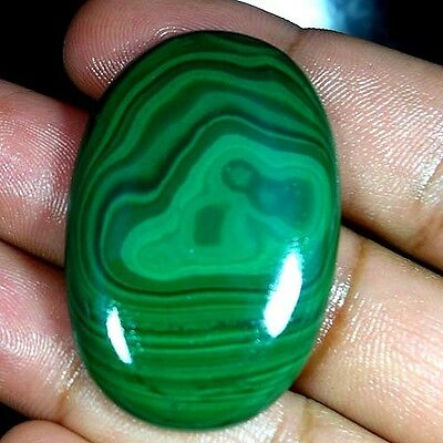 115.65Cts. 100% NATURAL DESIGNER GREEN MALACHITE OVAL CABOCHON AFRICAN GEMSTONES