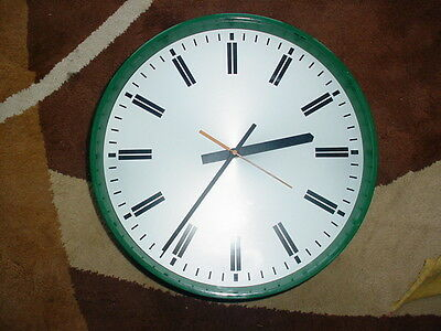 Vintage Smiths Industrial Factory Wall Clock