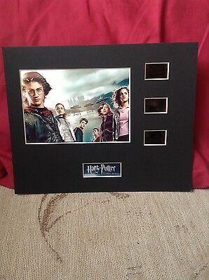 Harry Potter and the Goblet of fire 10 x 8 film cell display