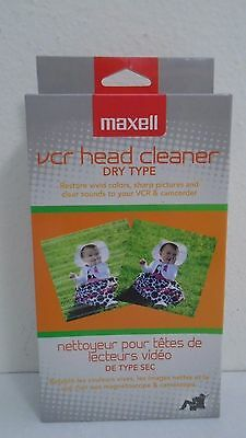 Maxell VCR Head Cleaner Dry Type