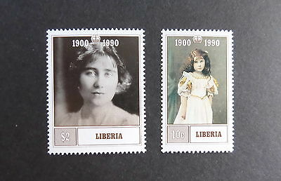 Liberia 1990 Queen Mother's 90th Birthday  MNH UM unmounted mint
