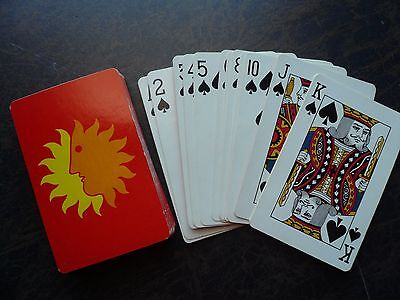 Vintage National Airlines Playing Cards Deck Bridge Size