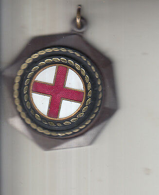 England St Georges Cross Medal Un-Named