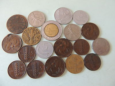 BULK LOT / COLLECTION OF ITALY / ITALIAN COINS -  Ref 155
