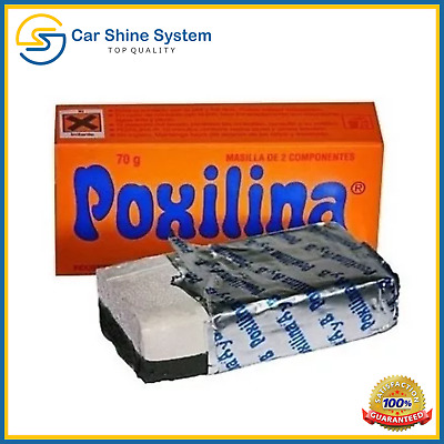 POXILINA BY BRIPOX poxipol STRONG METAL GLUE 70g THE BEST SEALANT 10min Easy
