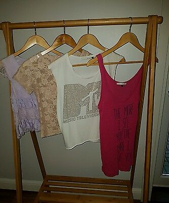 4 tops size 8