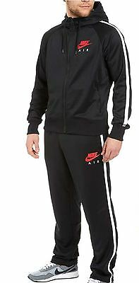 Men Nike Air Limitless Polyester Hooded Tracksuit Full Zip Top Sports Pants Set