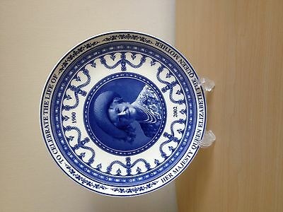 "Wedgwood ""Queen Mother""  1900-2002 plate"