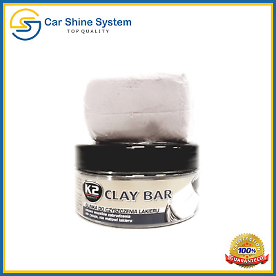 K2 Clay Detailing Bar 200g Car Valeting Auto Cleaning Magic Wax Wash Remove Tar