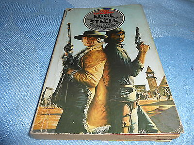 Vintage Western Paperback - EDGE & STEELE: TWO OF A KIND - NEL, 1980
