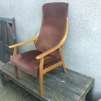 1970s Danish Style Easy Chair - Refurb Project Retro