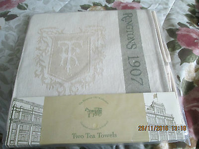 Pack Of Two Ringtons Tea Towels