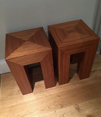 Solid Oak Side Table HEAL'S / Lamp Table / Bedside Table