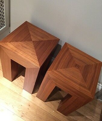 Side Table HEAL'S Solid Oak / Lamp Table / Bedside Table