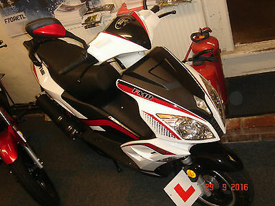 """Lexmoto """" FMR """" 125cc Scooter"""