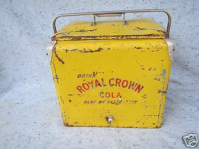 RC Royal Crown Cola Soda Pop Cooler 7up pepper Ale Embossed