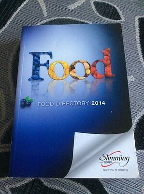 Slimming World Food Directory 2014