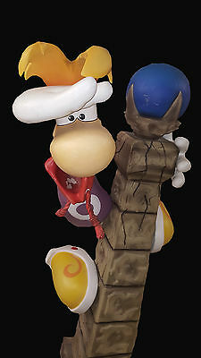 COLLECTOR RARE RAYMAN 3 Statue Oxmox Taille réelle 1/1 Occasion A voir