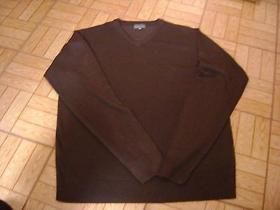 Pull Homme Marron Fonce